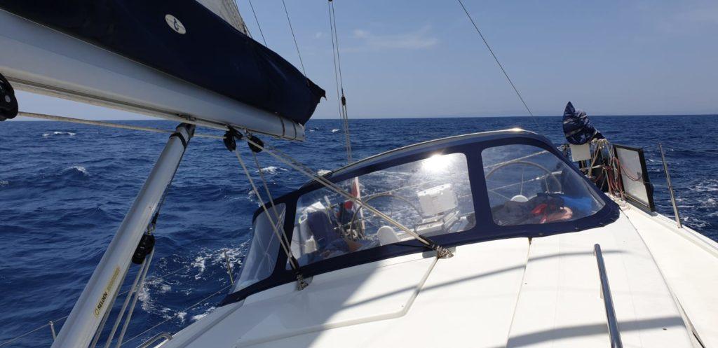 Zeilboot buiskap tent tenara garen
