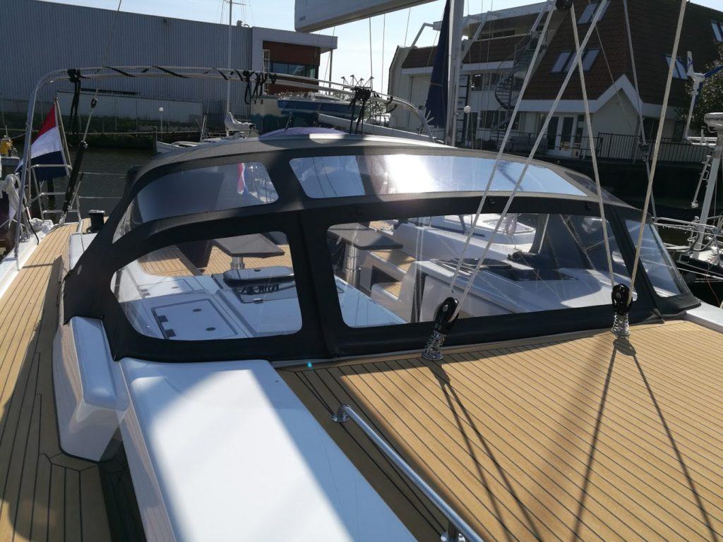 Buiskap zeilboot contender tenara garen